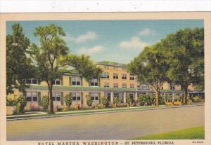 Florida St Petersburg Hotel Martha Washington Curteich