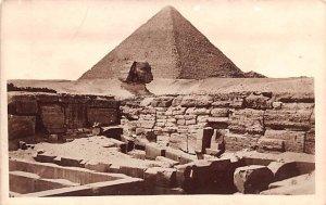 Pyramid Egypt, Egypte, Africa Unused