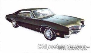 1970 Montego MX Brougham Automobile Unused