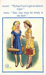 Leslie Lester Ltd. Risque Sayings #192 Postcard