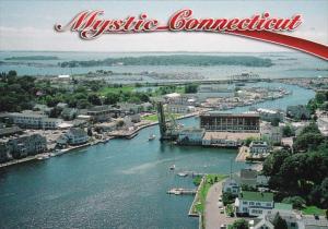 Connecticut Mystic Aerial View