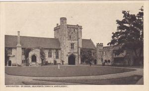 England Winchester St Cross Church Beaufort's Tower and Abulatory
