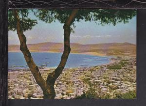 Panorama,Haifa,Israel Postcard BIN