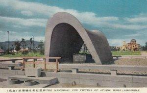 HIROSHIMA , Japan , 1940-50s ; Memorial , Victims of Atomic Bomb