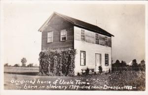 Black Americana Original Home Of Uncle Tom Born In Slavery 1789 Died Near Dre...