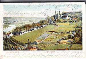 Bavaria Wurzburg das Kappele 1904