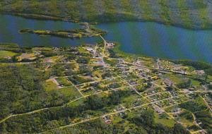 Canada Aerial View Burns Lake British Columbia