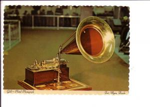 Edison Museum, Gold Plated Phonograph Fort Myers, Florida, Interior