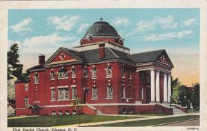 First Baptist Church, Edenton, North Carolina, 1930-1940s