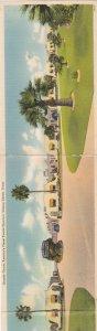 CORPUS CHRISTI, Texas, 20-40s; Tri-fold, Panaramic View, Grande Courts