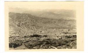 RP: View of the City La Paz , Bolivia , 00-10s