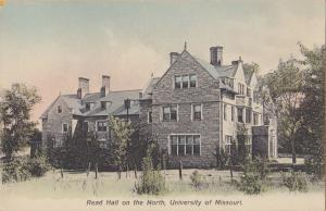 Columbia, MO. University of Missouri, Read Hall on the North