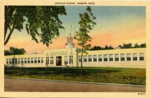 MA - Marion, Cape Cod. Sippican School
