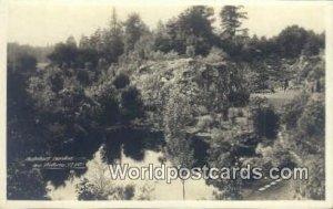 Butehart Gardens Victoria British Columbia, Canada Writing On Back
