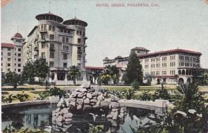 PASADENA, California, 1900-1910's; Hotel Green