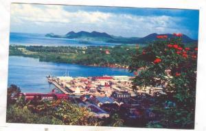 Harbour , St Lucia , 40-60s