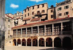 Croatia Sibenik - Town Hall, Rathaus, Hotel de ville, Municipio