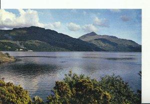 Scotland Postcard - Ben Lomond from Inveruglas - Dunbartonshire - Ref 19786A