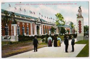 Jamestown Expo 1907, Machinery & Transportation Building