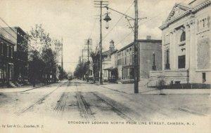 CAMDEN , New Jersey, 1901-07 ; Broadway