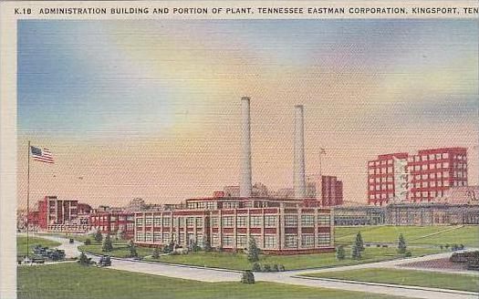 Tennessee Kingsport Administration Building And Portion Of Plant Tennessee Ea...