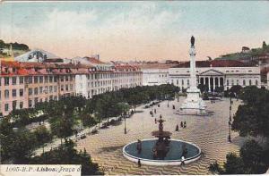 Praca De D. Pedro IV, Lisboa, Portugal, 1900-1910s