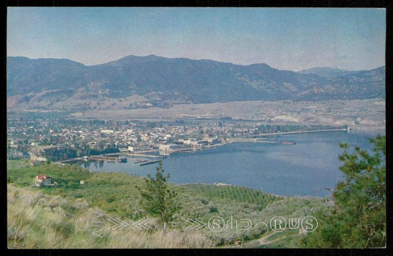 Apple Orchards at Penticton, B. C.