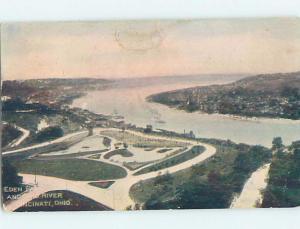 Pre-1907 PARK SCENE Cincinnati Ohio OH hp9894