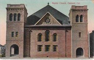 California Oakland Baptist Church 1909