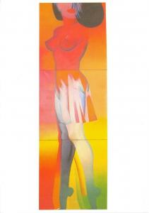 Art Postcard, Idealer Partner (1966/67) by Allan Jones 82U