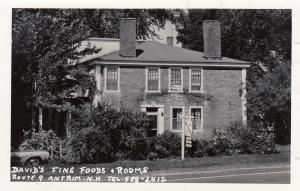 RP: ANTRIM , New Hampshire, 1930-40s ; David's Fine Foods & Rooms