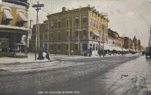 TORONTO (Ontario),  1907 ; Cor. of Carlton & Yonge Streets