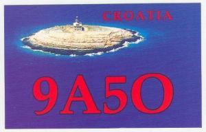 LIGHTHOUSE on Island, CROATIA, 50-60s