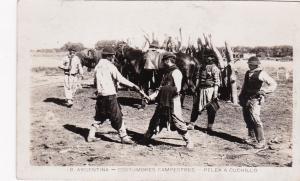 RP, Costumbres Campestres, Pelea A Cuchillo, Republica Argentina, 1920-1940s