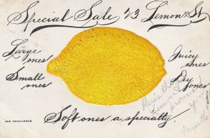 Advertising Special Sale on Lemons, PU-1907