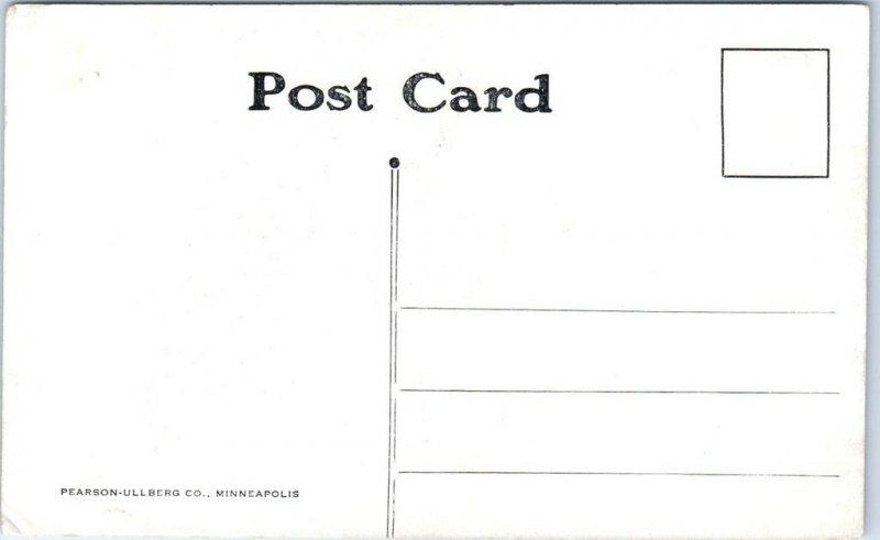 Marshalltown, Iowa Postcard Bird's-Eye View, NE from Court House c1910s Unused