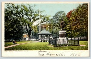 Newport Rhode Island~Touro Park~Matthew Perry Monument~Pavilion~1905
