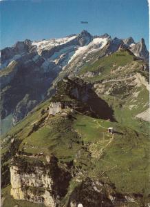 Switzerland, Suisse, Wildkirchli-Ebenalp-Schafler-Santis, 1979 used Postcard