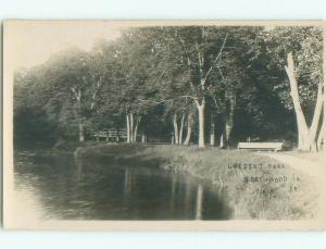 Pre-1920's rppc NICE VIEW Northwood Iowa IA i5447