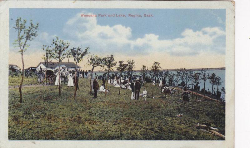 Wascana Park & Lake, Regina, Saskatchewan, Canada, 1900-1910s