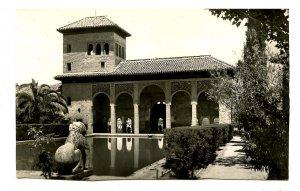 Spain - Granada. Alhambra, the Ladies' Tower  *RPPC