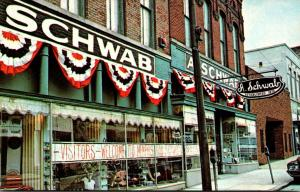 Tennessee Memphis A Schwab Department Store