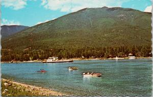 MV Balfour BC Ferry c1967 Vintage Postcard D78