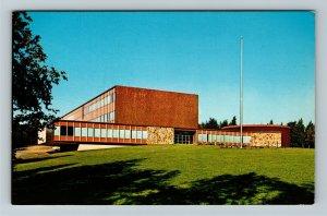Anchorage AK-Alaska, Methodist Pacific University, Chrome Postcard