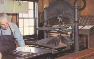 Print Shop,  1850 Metropolitan Toronto & Region Conservation, Ontario, Canada...