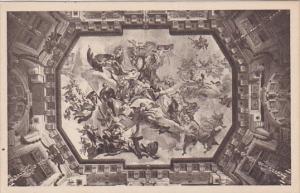 Deckengemalde des Marmorsaals, WEIN, Oberes Belvedere, Austria, 10-20s