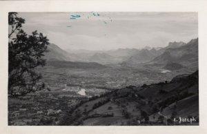 RP: ISERE, France, 1930-50s; Panorama du FORT du Mont SAINT-EYNARD
