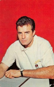 BEN CASEY Doctor TV Show Actor Vince Edwards c1960s Vintage Postcard