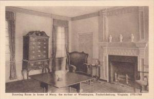 Drawing Room In Home Of Marry The Mother Of Washington Fredericksburg Virgini...