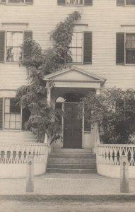 RP: NEWBURYPOINT , Mass , 00-10s ; Colonial Doorway #7 Knapp Perry House
